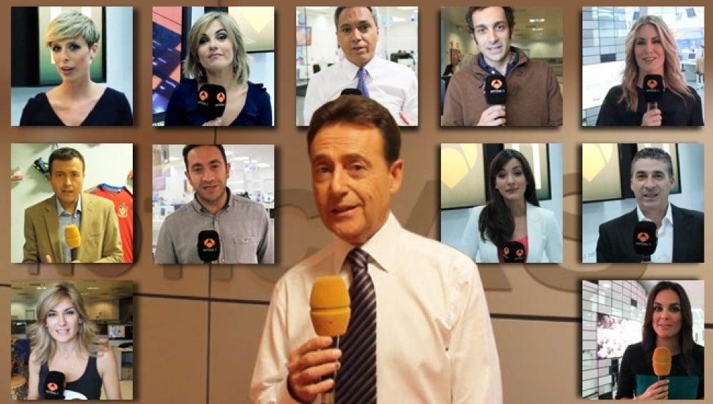 Los presentadores de Antena 3 nos hablan sobre Halloween.