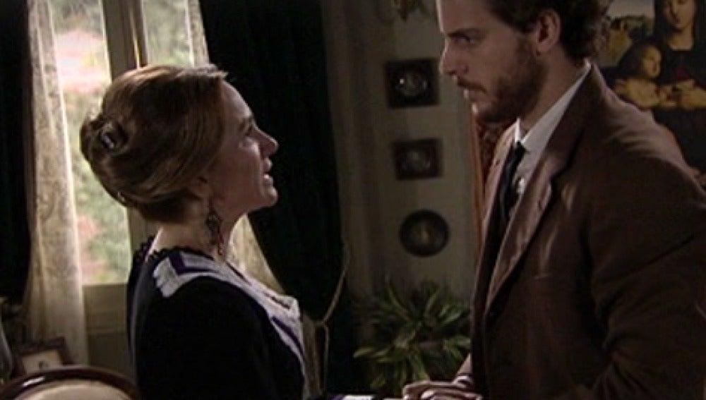 Doña Carlota ayudará a María si Andrés se casa con ella