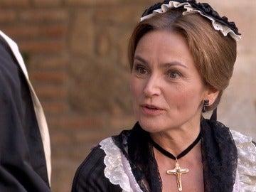 Doña Carlota descubre la verdad sobre la hija de María