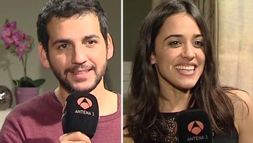 Fran Perea y Macarena García