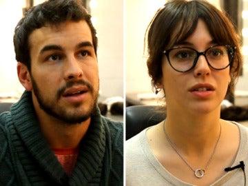 Mario Casas y Blanca Suárez