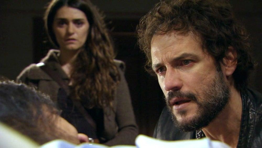 Raúl y Olivia
