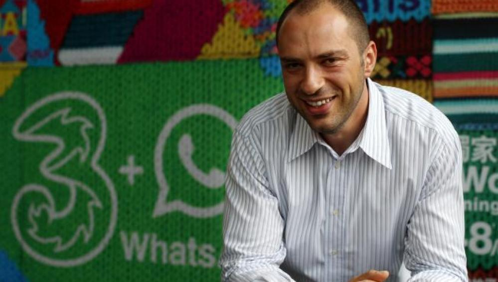 Jan Koum, director ejecutivo de Whatsapp