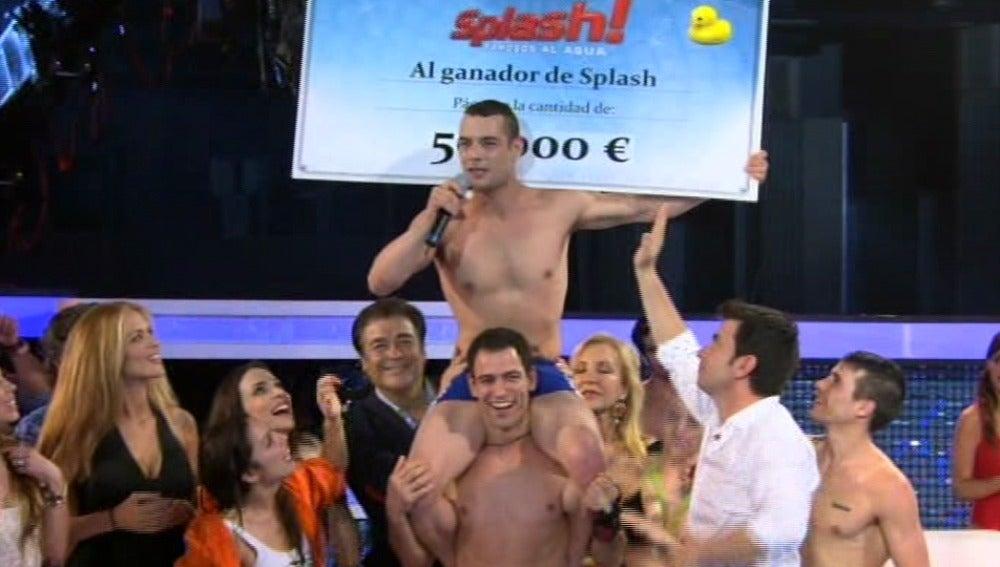Splash 8 - Gervasio Deffer finalista