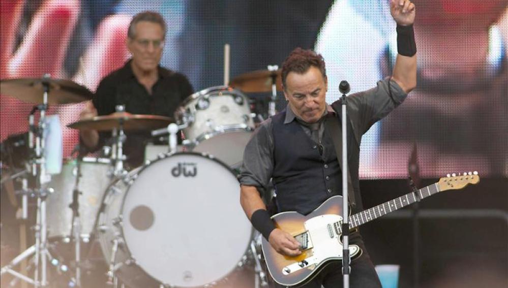 Springsteen durante un concierto