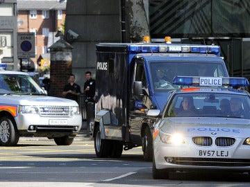 Dispositivo policial en Londres
