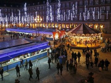 Mercadillo de Navidad en la Plaza Mayor
