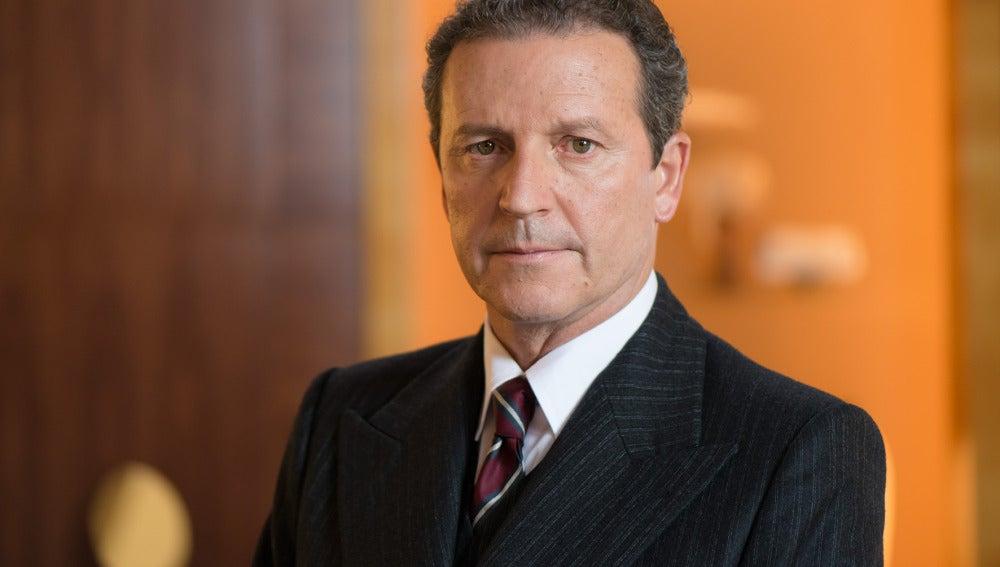 Pep Munné es Don Gerardo Otegui