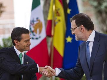 Rajoy y Peña Nieto, en Moncloa