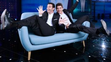 Arturo Valls y Manel Fuentes son los presentadores de 'Los viernes al show'
