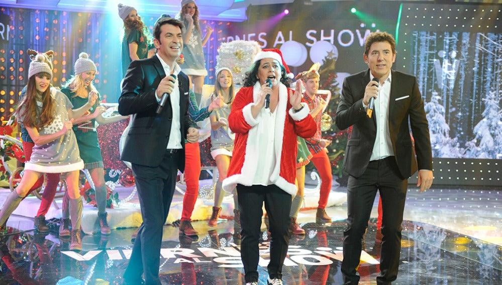 María del monte en Los viernes al show