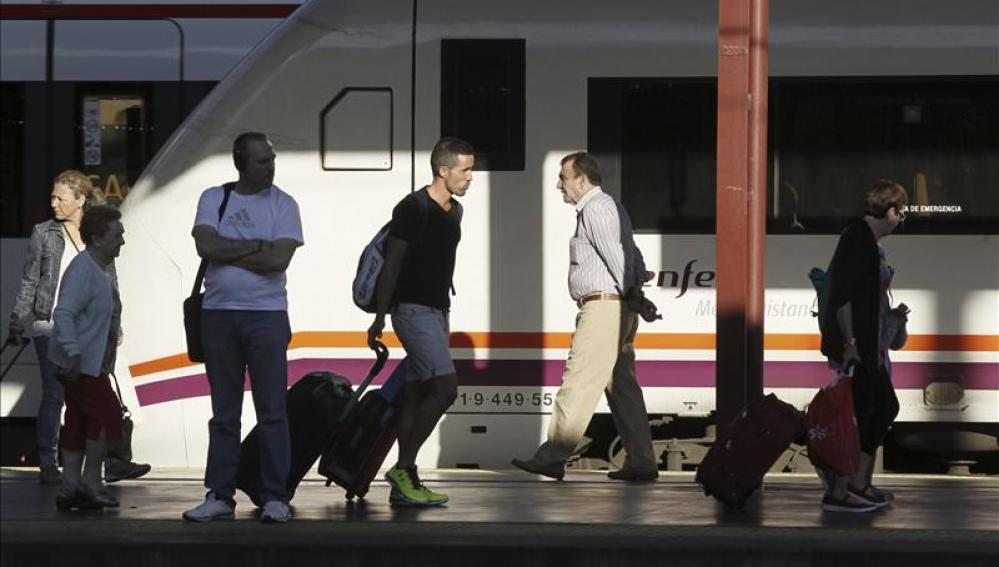 Estación de Renfe en Madrid