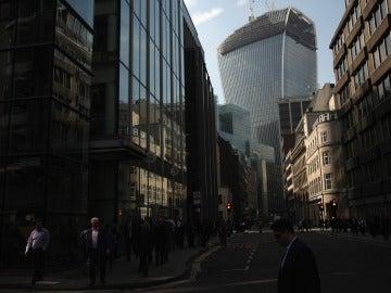 Vista general del edificio 'Walkie-Talkie' en Londres