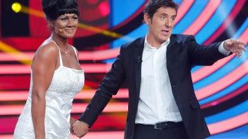 El jurado se emociona con la imitación de Rosa López