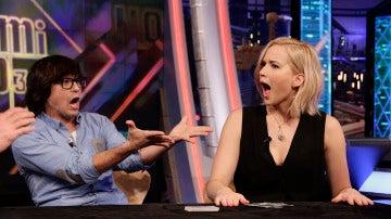 Jennifer Lawrence hace magia con Luis Piedrahita