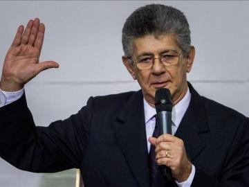El presidente de la Asamblea Nacional, Henry Ramos Allup