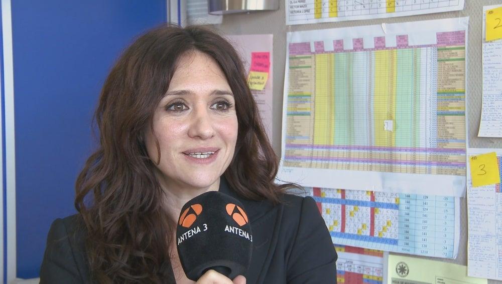 María Botto en la rueda de prensa de la segunda temporada de 'Bajo Sospecha'