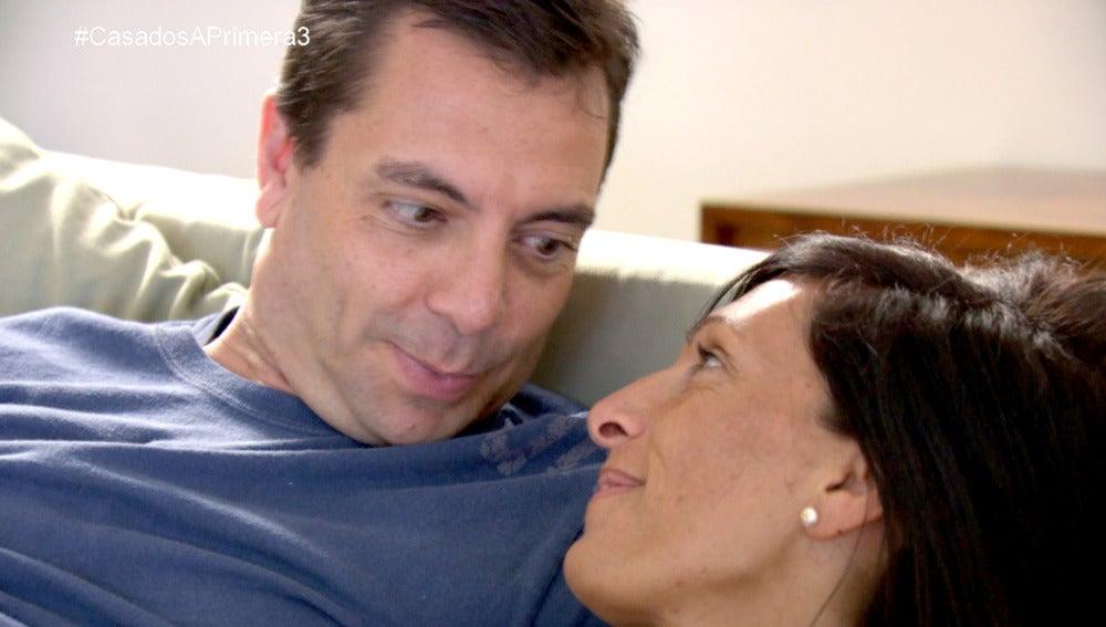 """Mónica: """"Pedro es un reto para mi"""""""