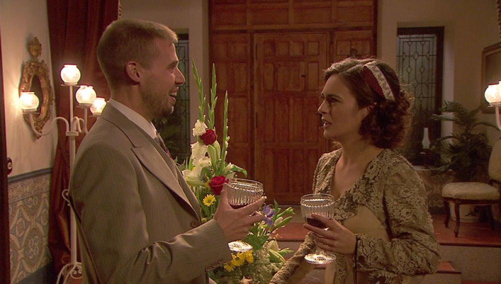 Hipólito le pide matrimonio a Gracia
