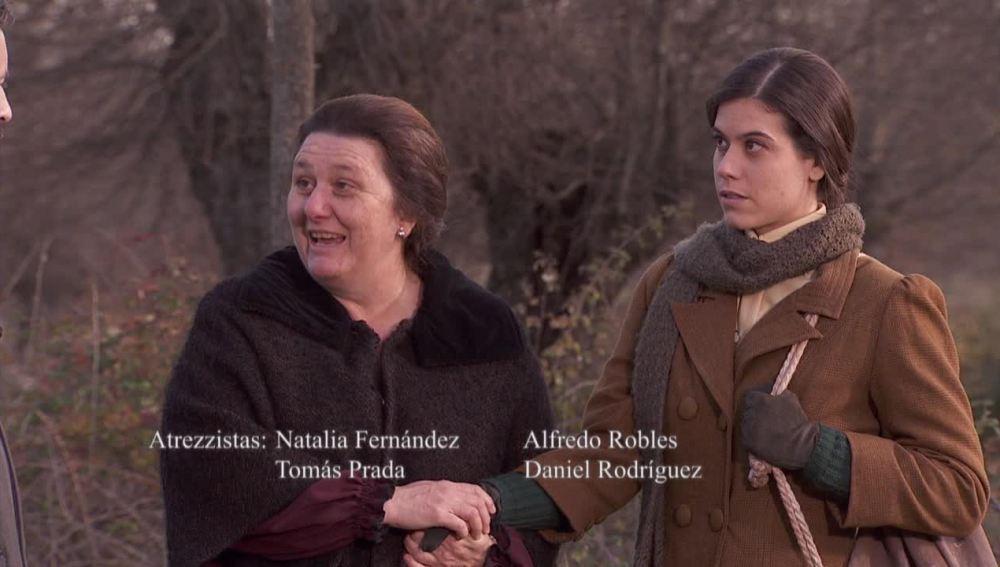 Avance Puente Viejo C1266 - Alfonso y Ramiro encuentran a su madre con Rafaela en el bosque