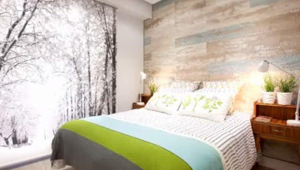 'Decogarden' afronta el reto de decorar una habitación de apenas 8 metros cuadrados