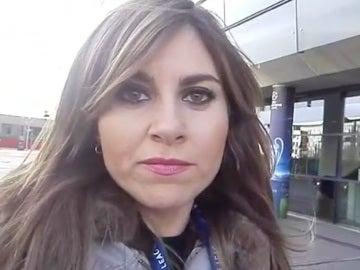 Susana Guasch, en los exteriores del Emirates Stadium
