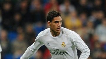 Varane, con el Real Madrid