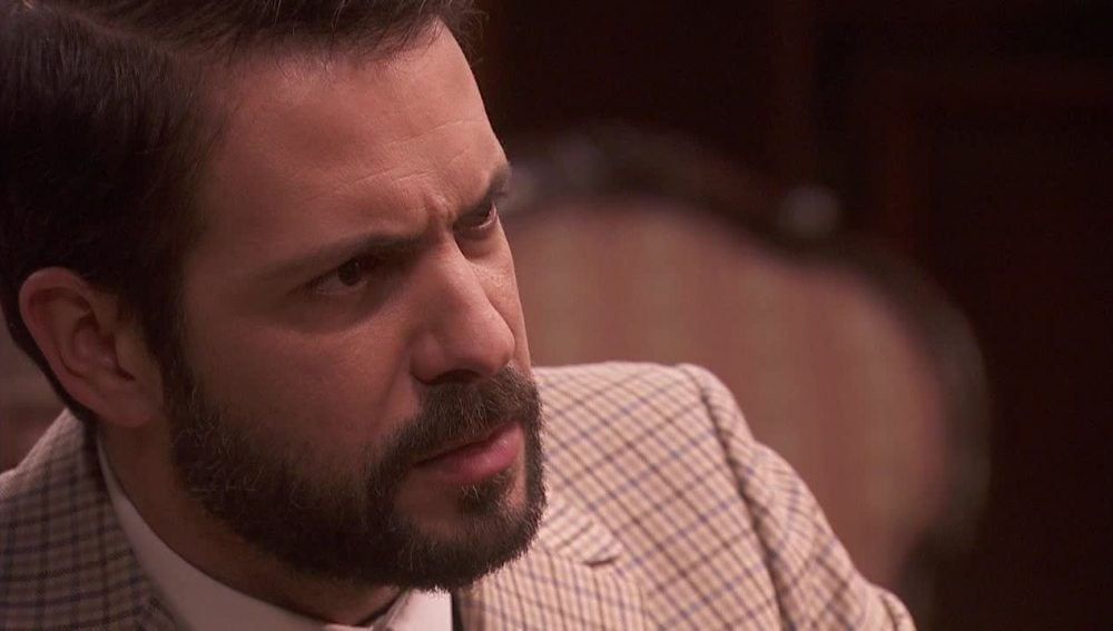 Candela no quiere que Severo se meta en problemas con Hernando