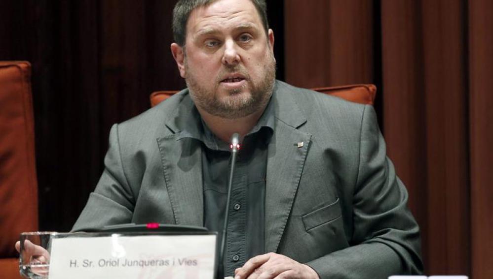 El vicepresidente y conseller de Economía y Hacienda, Oriol Junqueras