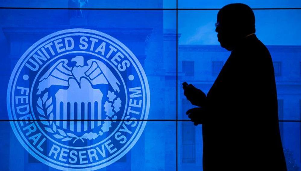 Interior del edficio de la Reserva Federal