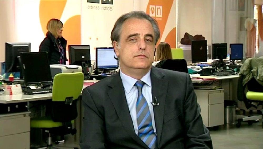 Pau Molins, abogado de la Infanta Cristina, durante una entrevista en Espejo Público