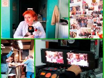 Pasamos un día de rodaje tras las cámaras de  'Allí Abajo'