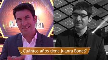 ¿Cuánto sabe Arturo Valls sobre Juanra Bonet?