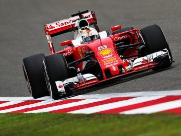 Raikkonen durante el GP de China