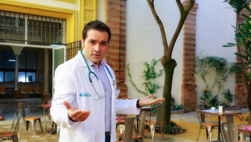 Alfonso Sánchez es Rober en 'Allí Abajo'