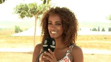 Yaima Ramos es Fara, la hermana de Kaled