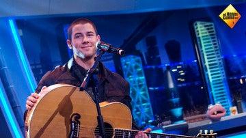 Nick Jonas canta 'Close' en directo para su fans en 'El Hormiguero 3.0'