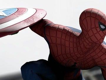 SpiderMan en 'Civil War'