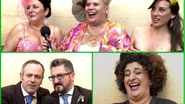 Collage tercera temporada 'Allí Abajo'