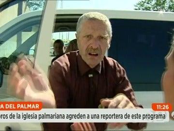 Brutal agresión a un equipo de Espejo público que investigaba a los palmarianos