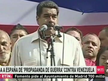 """El presidente de Venezuela dice que en España """"hace falta un Maduro"""""""