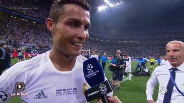 """Cristiano Ronaldo: """"Tuve una visión y le pedí a Zidane tirar el quinto penalti"""""""