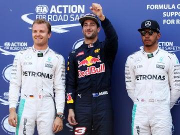 Ricciardo, el más rápido de la Q3