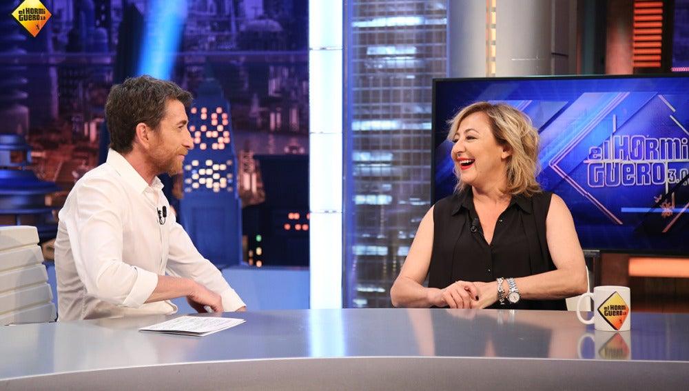 """Carmen Machi: """"La película 'Rumbos' engancha tanto que hasta me olvido de que yo salgo en ella"""""""