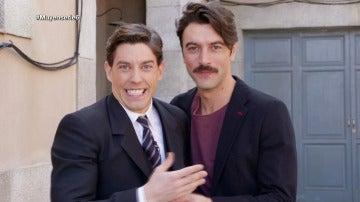'Muy en serie' se cuela en la grabación de la cuarta temporada de 'Velvet'