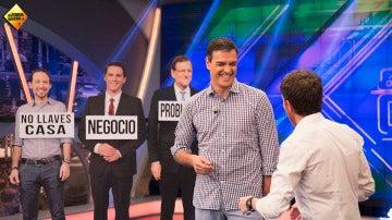 ¿A quién no dejaría Pedro Sánchez nunca las llaves de su casa: a Pablo Iglesias o a Susana Díaz?