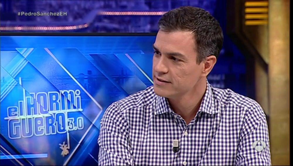 Pedro Sánchez en El Hormiguero