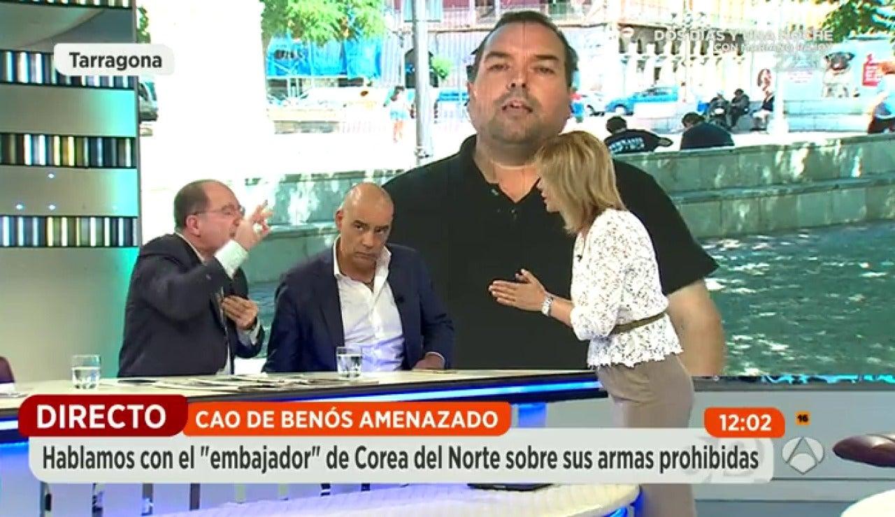 Alejandro Cao de Benós la vuelve a liar en Espejo Público