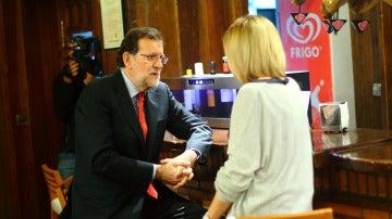 """Mariano Rajoy vaticina el resultado del 26-J: """"Creo que vamos a estar por encima del 30%"""""""