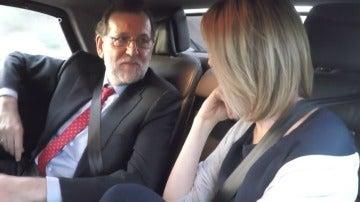 """Frame 12.188081 de: Mariano Rajoy, sobre su mujer: """"Viri me ha dado lo más importante que tengo"""""""